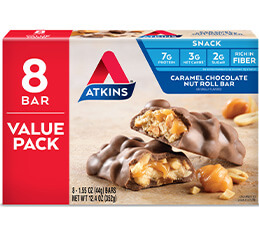 Caramel Chocolate Nut Roll Value Pack