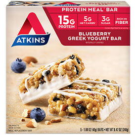 Blueberry Greek Yogurt Bar