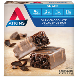 Dark Chocolate Decadence Bar