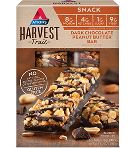 Harvest Trail Dark Chocolate Peanut Butter Bar