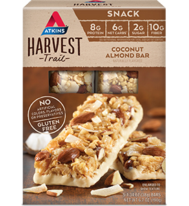 Harvest Trail Coconut Almond Bar