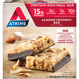 Almond Coconut Bar