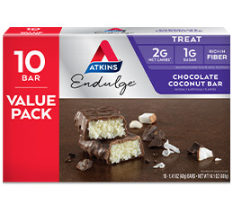 Endulge Chocolate Coconut Bar Value Pack