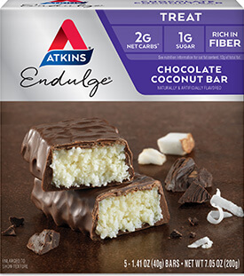 Endulge Chocolate Coconut Bar