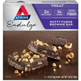 Endulge Nutty Fudge Brownie
