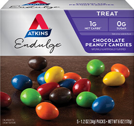 Endulge Chocolate Peanut Candies