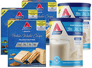 Protein Powder & Wafer Crisps Variety Pack