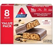 Chocolate Peanut Butter Bar Value Pack [atk-020848.jpg] - Click for More Information