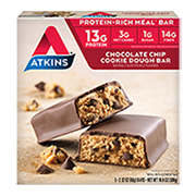 Chocolate Chip Cookie Dough Bar [atk-025300.jpg] - Click for More Information