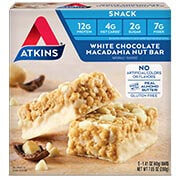 White Chocolate Macadamia Nut Bar [atk-031523.jpg] - Click for More Information