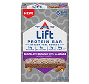 Lift Chocolate Brownie with Almonds Protein Bar [atk-045728.jpg] - Click for More Information