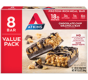 Chocolate Chip Granola Bar Value Pack [atk-046596.jpg] - Click for More Information