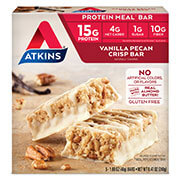 Picture of Vanilla Pecan Crisp Bar Packaging