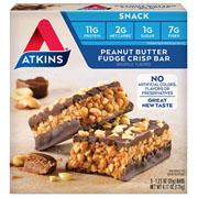 Picture of Peanut Butter Fudge Crisp Bar Packaging