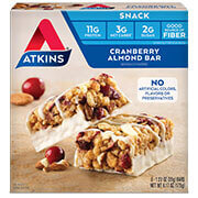 Picture of Cranberry Almond Bar Packaging