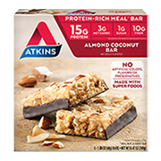 Almond Coconut Bar under the category  in Atkins. - Click for More Information