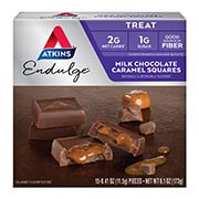 Picture of Endulge Milk Chocolate Caramel Squares Packaging