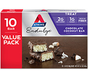Picture of Endulge Chocolate Coconut Bar Value Pack Packaging