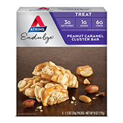 Picture of Endulge Peanut Caramel Cluster Bar Packaging