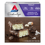 Picture of Endulge Chocolate Coconut Bar Packaging