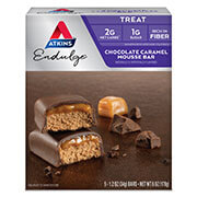 Picture of Endulge Chocolate Caramel Mousse Bar Packaging