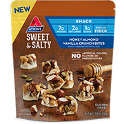 Honey Almond Vanilla Crunch Bites under the category  in Atkins. - Click for More Information